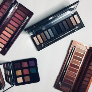 Urban Decay Naked Pallets and Viseart